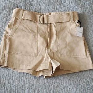 Forever 21 High Waist Belted Shorts (NWT)